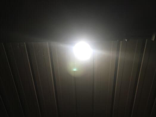 ASL-090の光り方センサー感度