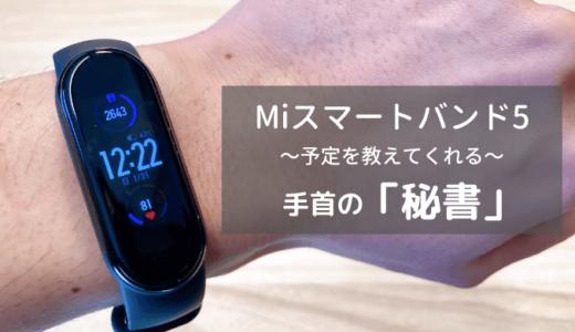 保護中: 【レビュー】XiaomiのMiスマートバンド5(日本語版)は便利さがアップしていました